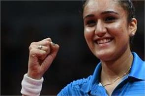 the decision to be more than a childhood coach was just right  manika batra