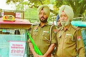 traffic police  handicap  service  patiala  e rickshaw
