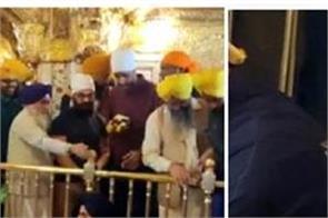 aamir khan visits golden temple