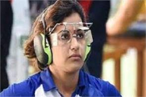 shooting world cup final manu rahi knocked out of 25m air pistol event