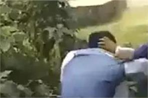west bengal by election bjp candidate beaten video viral