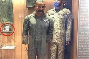 iaf pilot abhinandan statue displayed at pak war museum