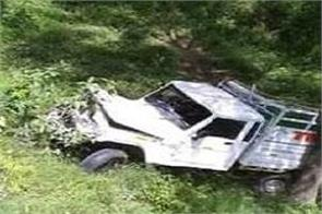 kullu in jeep accident at jaloda on nh 305