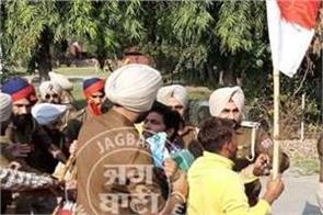 ravishankar protesters police custody protests faridkot