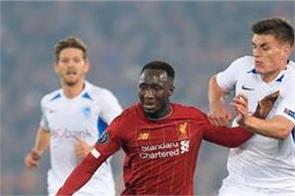 liverpool eke out 2 1 victory over genk
