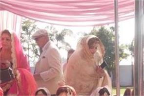 nawanshahr mla angad singh aditi singh marriage