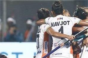 hockey  indian women team beat usa 5 1