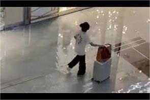 rain pours down in dubai malls