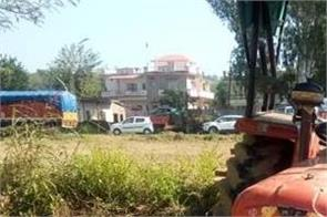 4 years child death due to tractor accident