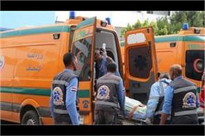 6 killed  24 injured in indian bus accident in egypt