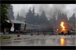 syria car bomb blast kills 4 people