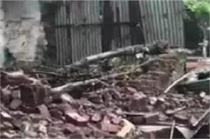 tamil nadu rain wall collapse 9 dead
