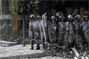 lebanese police clash protesters