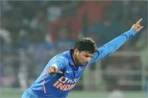 kuldeep is just one wicket away form his 100th odi wicket
