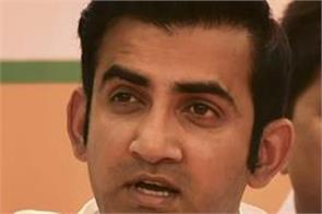 lathi charge was wrong but police will retaliate if you throw stones gambhir