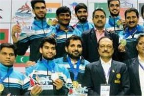 south asian games india got 27 medals in second on day