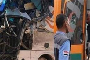 egypt 28 killed in two road accidents indian died