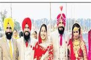 dera baba nanak gurdwara sri kartarpur sahib newlyweds