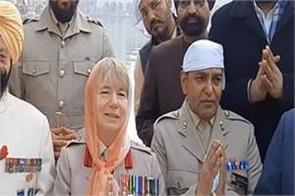 amritsar sri darbar sahib british army delegation