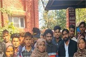 moga  gurdwara sahib  women  beaten