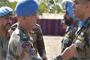 indian peacekeepers south sudan un medal