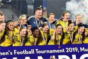 sweden defeated india and became under 17 women s champion