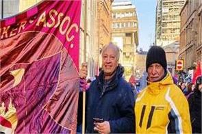 london  st andrew  s day rally