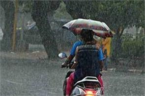 rain may be possible at many places in punjab today and tomorrow