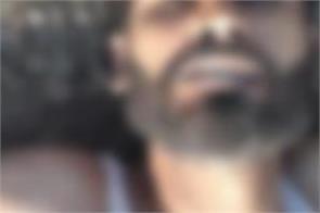 dead body found of unidentified person