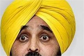 bhagwant mann  bjp  captain amarinder singh