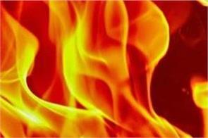 madhya pradesh house fire family 4 dead