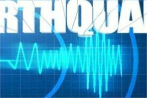 5 4 magnitude earthquake hits jammu and kashmir