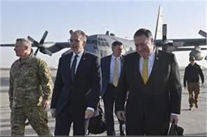 on his mideast trip  pompeo makes unannounced iraq stop