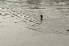 barnala  woman  canal  jump  suicide