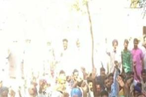 mansa  indian farmers union  showcasing
