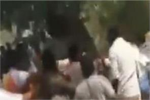 clash broke out ysrcp tdp workers