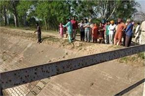identity of youth falling on the bhakra canal along with bullet