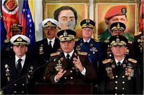 venezuelan army chief warns of possible bloodshed