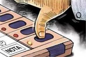 voters press nota button more then other candidates