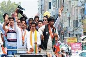 amritsar  gautam gambhir  road show
