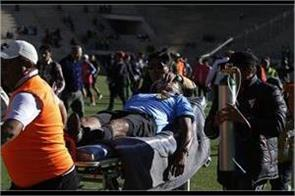 referee dies due to heart attack during football match