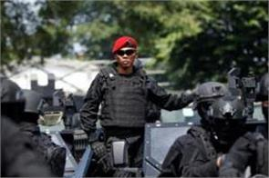 many suspected terrorists arrested before election results in indonesia