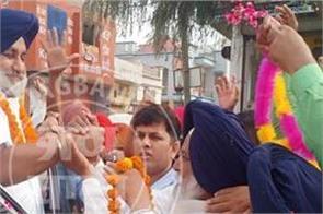 sukhbir singh badal  sher singh ghubaya
