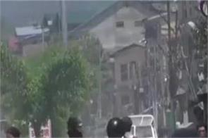 bandipora rape case students  security forces clash