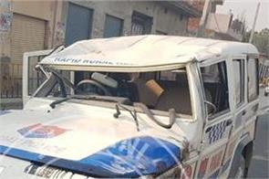 akali sarpanch  police  injured