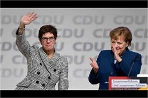 merkel  s successor said   i will not say for the post before 2021