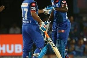 ipl 2019 delhi capitals beat hyderabad by 2 wickets