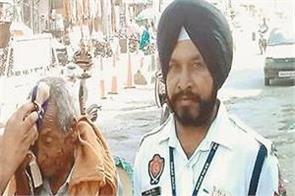 jhabal  traffic police  paramjit singh virdi