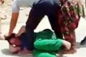 woman beaten case