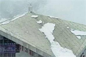 snowfall in hemkund sahib